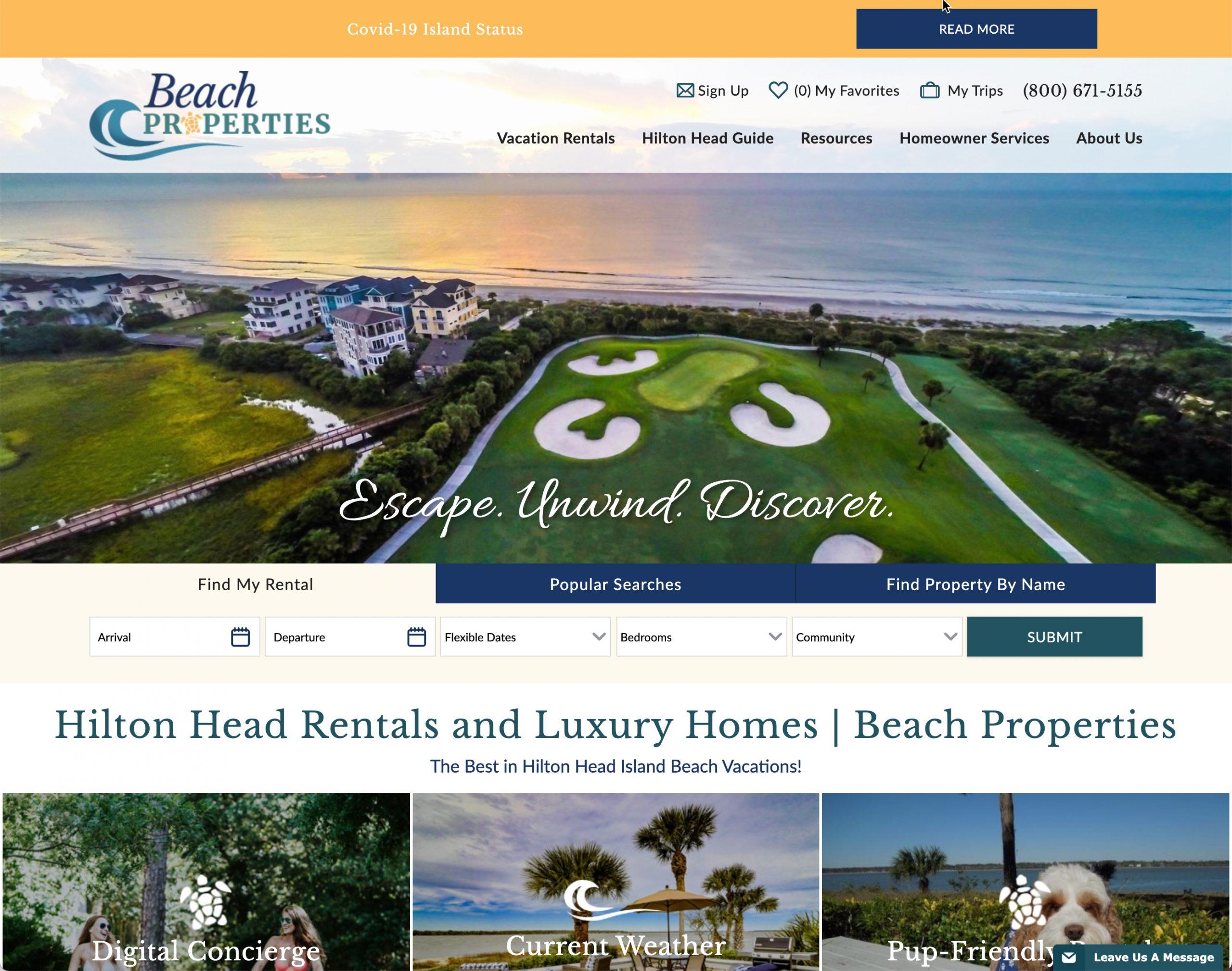 Beach Properties of Hilton Head