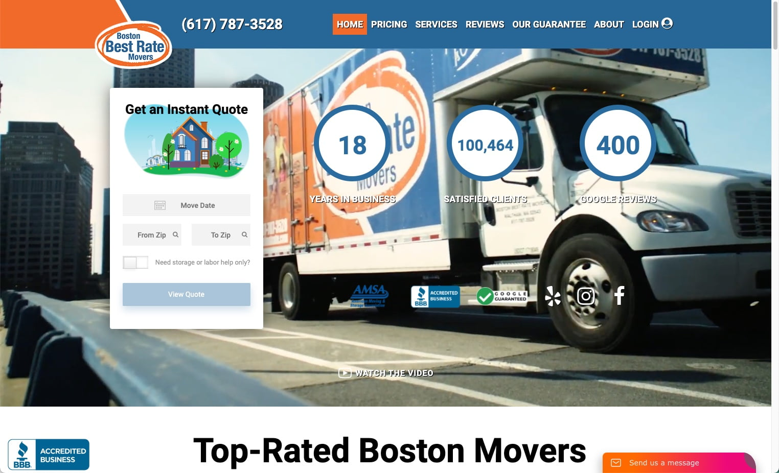 Boston Best Rate Movers
