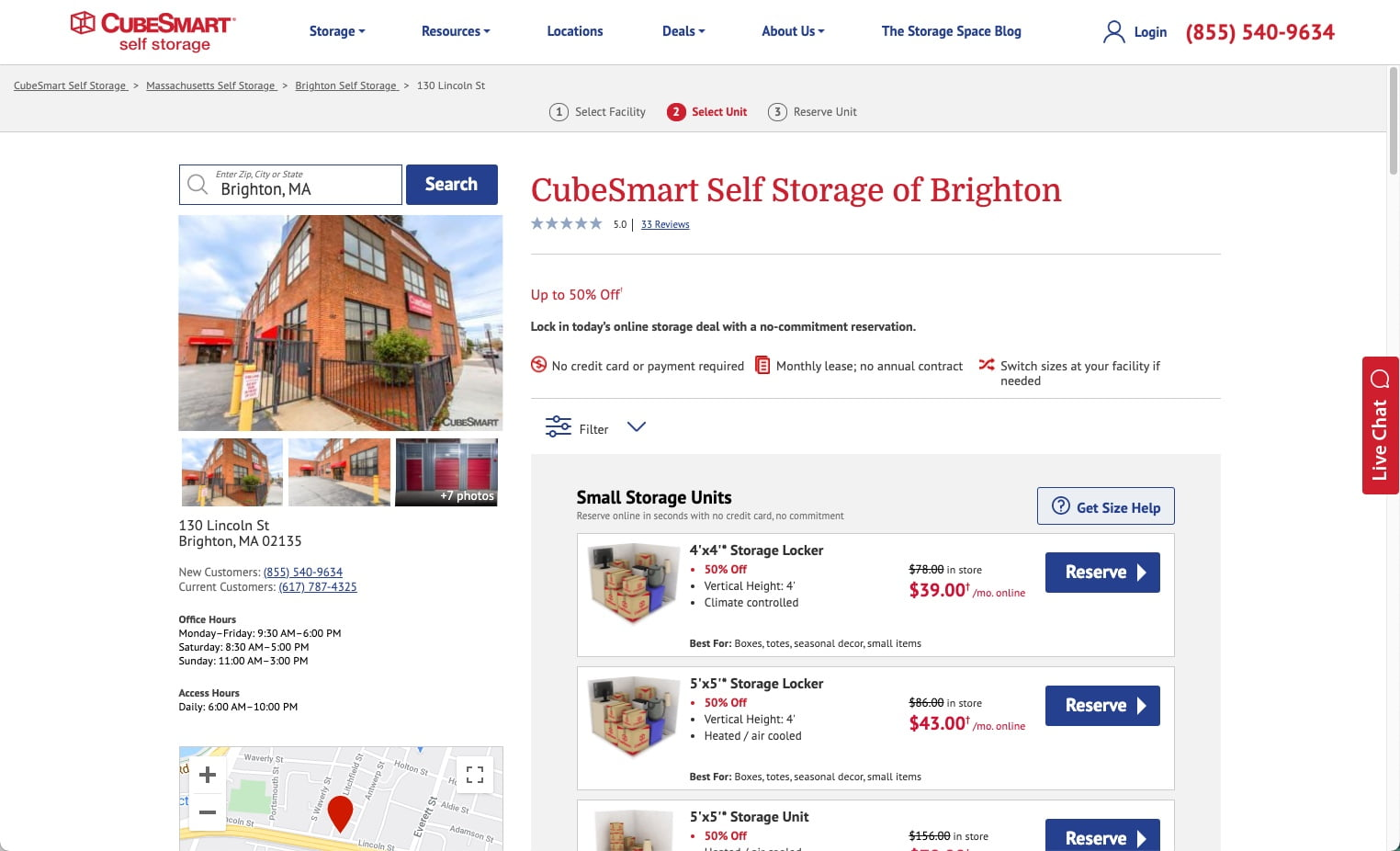 CubeSmart Self Storage of Brighton