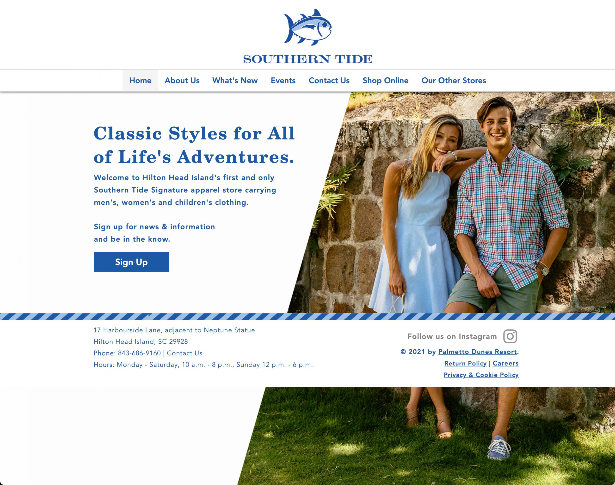 Southern Tide Signature Store